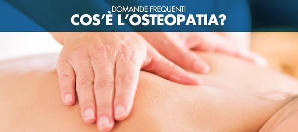 Che cos'è la osteopatia?