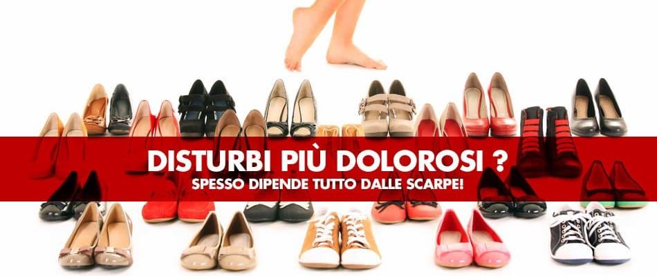 Disturbi e inestetismi causati dalla scarpa sbagliata