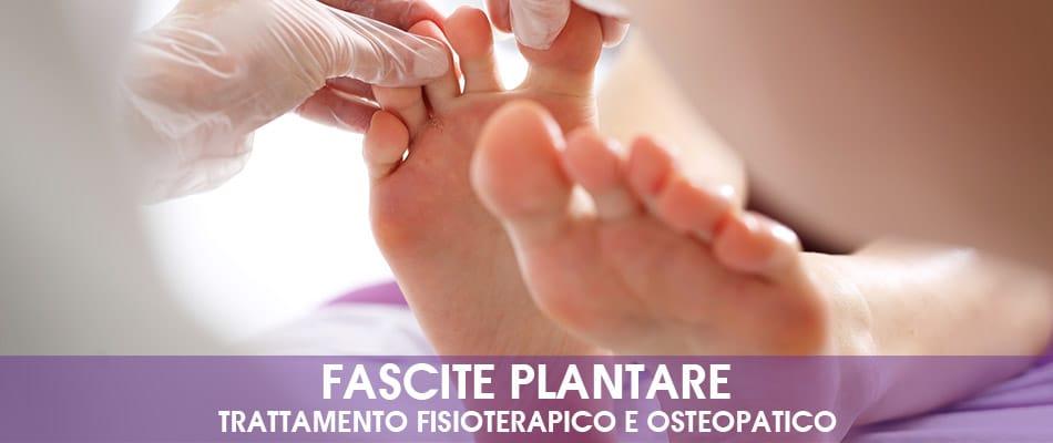 Fascite plantare: trattamento fisioterapico e osteopatico