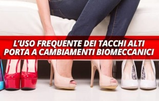 i problemi causati dai tacchi alti alle donne