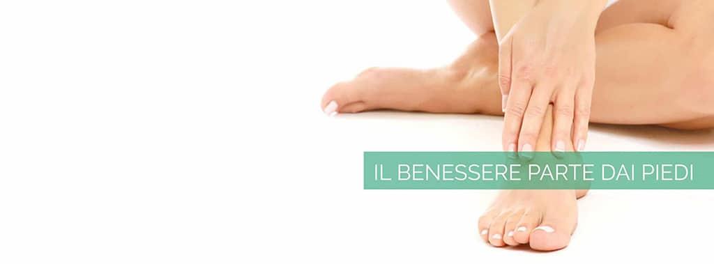 Il benessere parte dai piedi